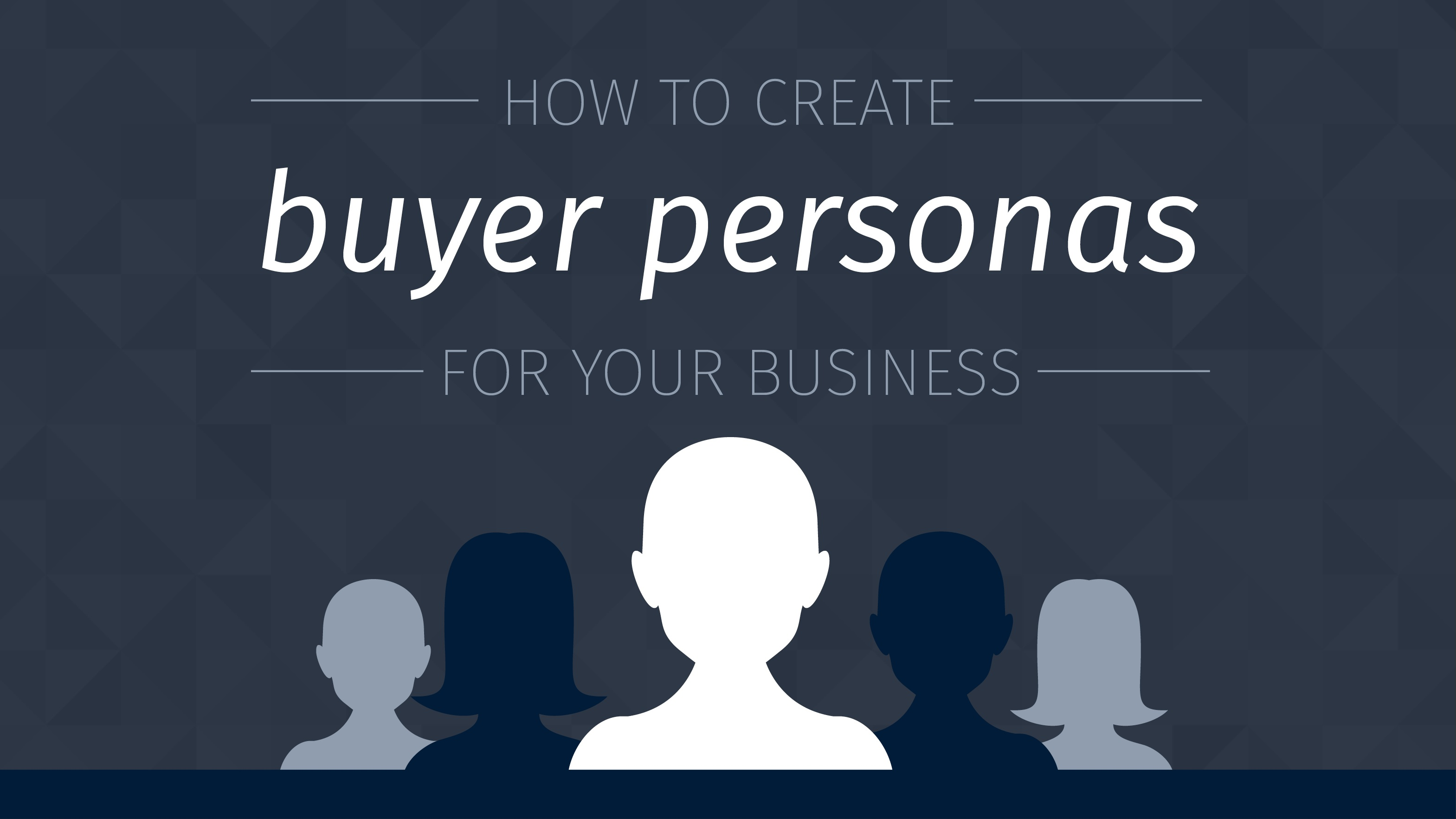 smart marketing with buyer persona template